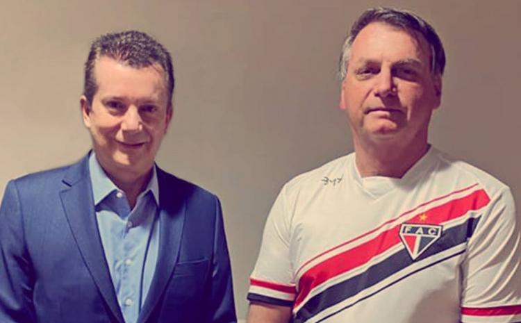 Russomanno visita Bolsonaro após cirurgia em São Paulo
