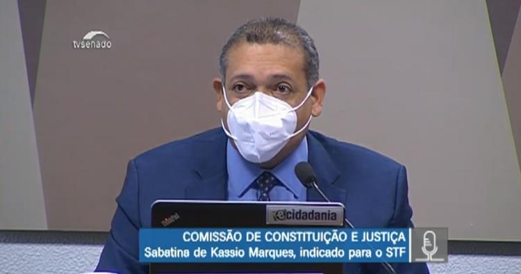 Por 22 votos a 5, CCJ aprova a indicação de Kássio Nunes ao STF